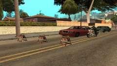 Des barrages routiers pour GTA San Andreas