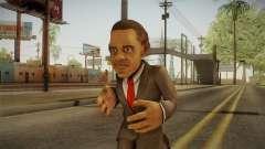 Barack Obama DD Skin pour GTA San Andreas