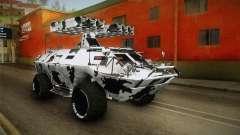APC GTA 5 GunRunning Custom Turret