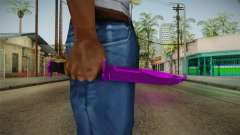 Purple Knife für GTA San Andreas