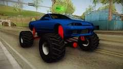 Nissan Skyline R32 Pickup Monster Truck pour GTA San Andreas
