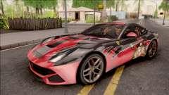 Ferrari F12 Berlinetta Kurumi Itasha Rezurrecti pour GTA San Andreas