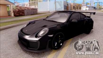 Porsche 911 GT2 RS 2017 SA Plate für GTA San Andreas