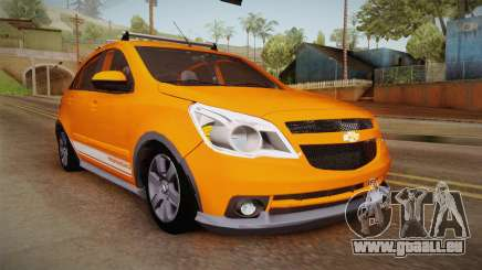 Chevrolet Agile Crossport Edition für GTA San Andreas