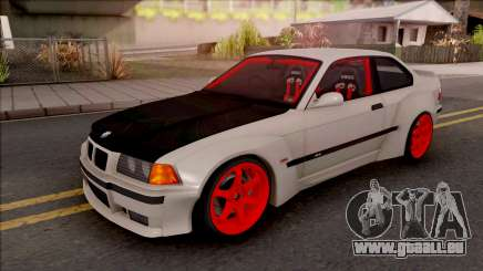 BMW M3 E36 Drift Rocket Bunny v2 pour GTA San Andreas