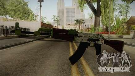 CS: GO AK-47 Hydroponic Skin für GTA San Andreas