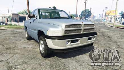 Dodge Ram 1500 1999 [add-on] für GTA 5