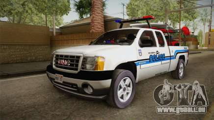 GMC Sierra San Andreas Police Lifeguard 2010 pour GTA San Andreas