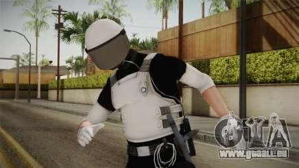 Mirror Edge Riot Cop v1 für GTA San Andreas