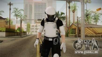 Mirror Edge Riot Cop v2 pour GTA San Andreas
