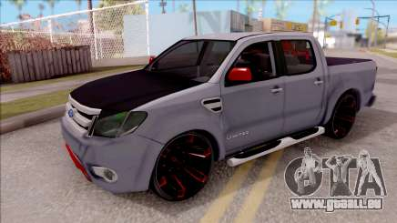 Ford Ranger 2014 Edition Flux Som pour GTA San Andreas
