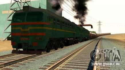 Locomotive de fret 2M62 1184 Masha pour GTA San Andreas