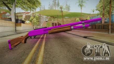 Purple Shotgun für GTA San Andreas