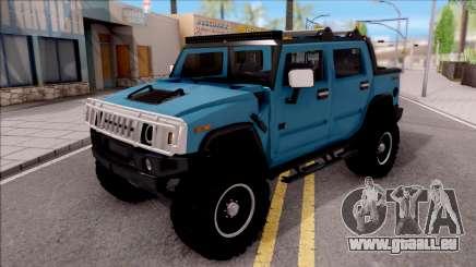 Hummer H2 Sut 4x4 für GTA San Andreas