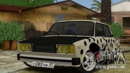 VAZ 2105 de Combat Classiques pour GTA San Andreas