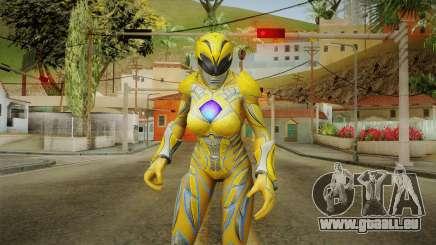 Yellow Ranger Skin pour GTA San Andreas
