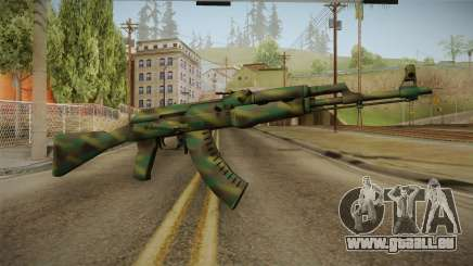 CS: GO AK-47 Jungle Spray Skin für GTA San Andreas