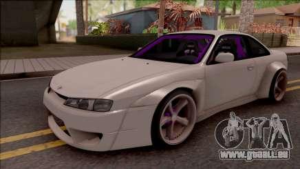 Nissan 200SX Drift Rocket Bunny für GTA San Andreas