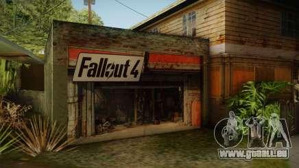 Fallout 4 Garage Texture HD pour GTA San Andreas