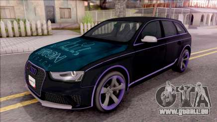 Audi RS4 Avant Edition Tron Legacy pour GTA San Andreas