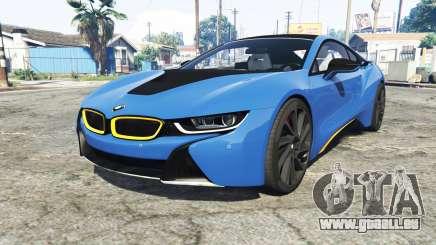 BMW i8 (I12) 2015 [add-on] pour GTA 5