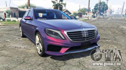 Mercedes-Benz S63 red brake caliper [replace] pour GTA 5