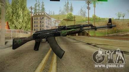 CS: GO AK-47 Emerald Pinstripe Skin für GTA San Andreas