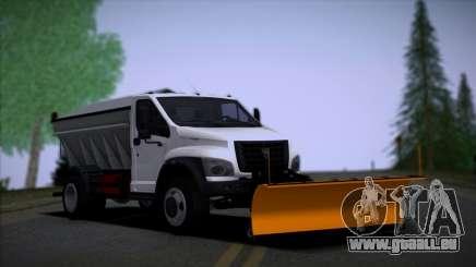 GAZon Prochaine Souffleuse À Neige pour GTA San Andreas
