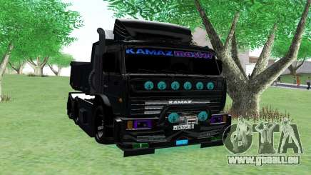 KAMAZ 65115 BLACK NIGHT pour GTA San Andreas