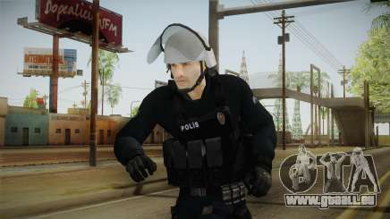 Turkish Riot Police with Gear pour GTA San Andreas