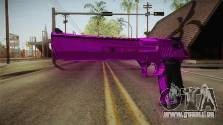 Purple Desert Eagle für GTA San Andreas