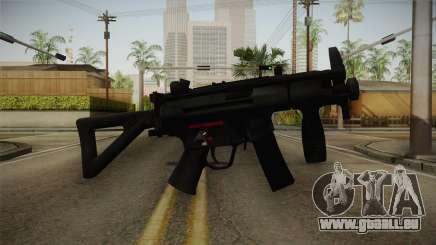 Mirror Edge HK MP5K-PDW für GTA San Andreas