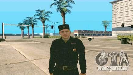 La haute Sergent de Police v. 1 pour GTA San Andreas