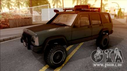 Jeep Cherokee 1984 Off-Road für GTA San Andreas