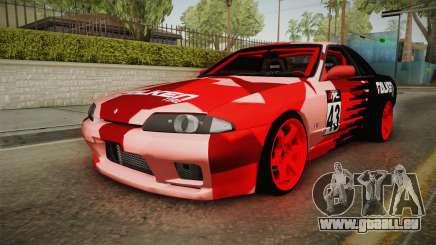 Nissan Skyline R32 Drift Falken Camo für GTA San Andreas