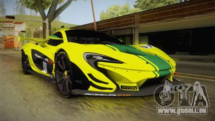 McLaren P1 GTR für GTA San Andreas