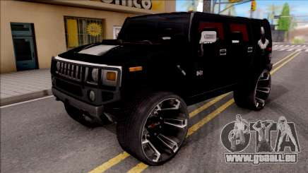 Hummer H2 Batman Edition für GTA San Andreas