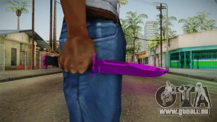 Purple Knife pour GTA San Andreas