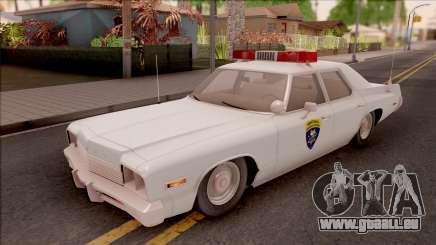 Dodge Monaco Montana Highway Patrol v2 pour GTA San Andreas