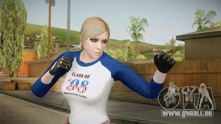 Gun Running Female Skin pour GTA San Andreas