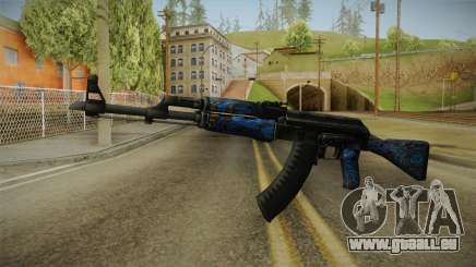 CS: GO AK-47 Blue Laminate Skin pour GTA San Andreas