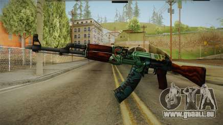 CS: GO AK-47 Fire Serpent Skin für GTA San Andreas