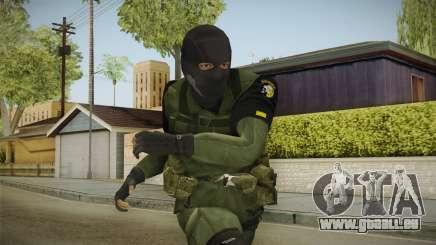 MSF Custom Soldier Skin 1 für GTA San Andreas