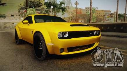 Dodge Challenger Demon 2018 pour GTA San Andreas
