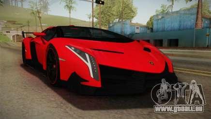 Lamborgini Veneno Roadster 2014 IVF v2 für GTA San Andreas