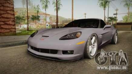Chevrolet Corvette C6 Z06 für GTA San Andreas