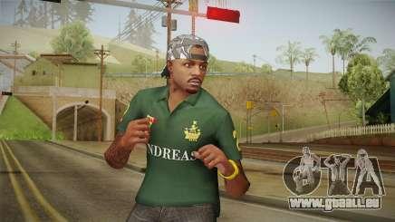 GTA 5 Online Guillermo Skin pour GTA San Andreas