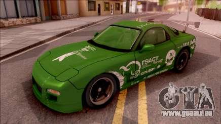 Mazda RX-7 NFS Undercover Vinyl für GTA San Andreas