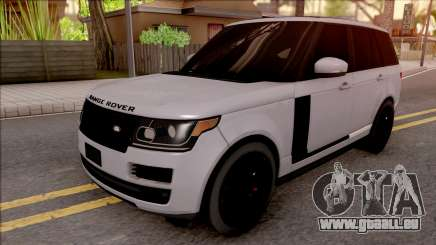 Range Rover Vogue Sport 2017 für GTA San Andreas
