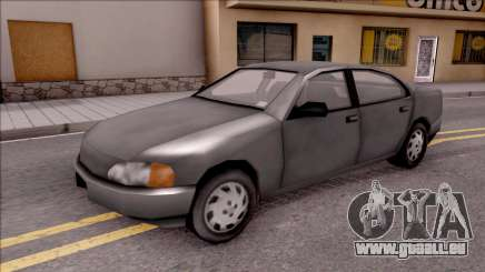 Kuruma from GTA 3 pour GTA San Andreas